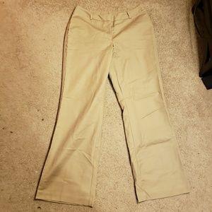Worthington》14 Tall Curvy Fit Tan Bootcut Khaki